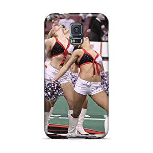 Snap-on Kansas City Chiefs Nfl Cheerleasers Case Cover Skin Compatible With Galaxy S5