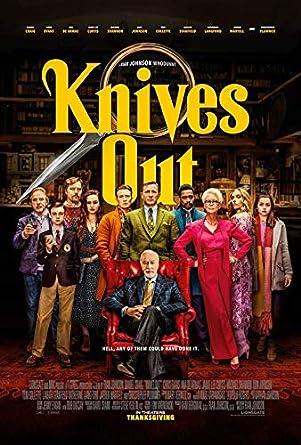 Knives Out 13 5 X20 Original Promo Movie Poster 2019 Chris Evans Daniel Craig At Amazon S Entertainment Collectibles Store