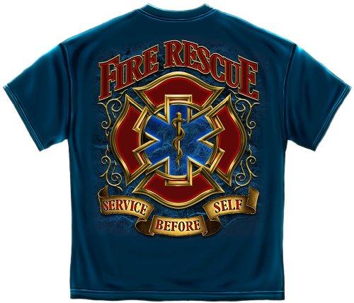 Firefighting | Fire Rescue Gold Shield Shirt ADD147-FF2086L