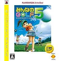 Minna no Golf 5 (PlayStation3 la mejor) [Importación de Japón]