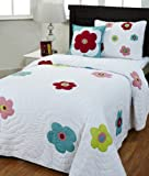 Be-You-tiful Home Stephanie Twin Quilt Set with Sham and Pillow
