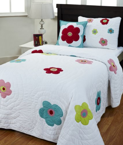 Be-You-tiful Home Stephanie Twin Quilt Set with Sham and Pillow by Be-You-tiful Home