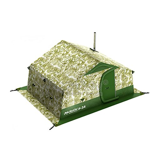 Mobiba Portable Double-Layered Expedition Tents R-34, Also can be Used as an All-Weather Full Height Camping Tent