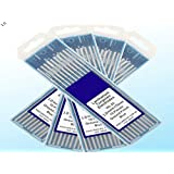 10 pcs of .040″ 7″(1.0175mm) WL20 Blue 2% Lanthanated Tungsten TIG Electrode