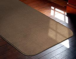 Skid-resistant Carpet Runner - Toffee Brown - 4 Ft. X 36 In. - Many Other Sizes to Choose From