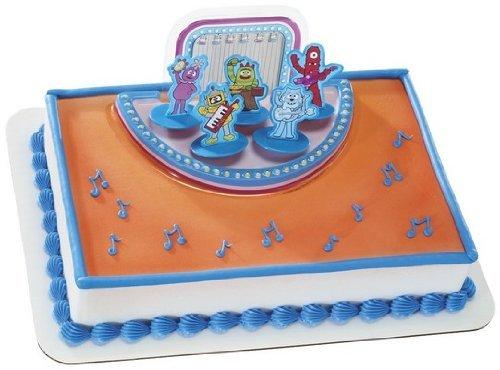 Yo Gabba Gabba Rockin' Band Cake Topper