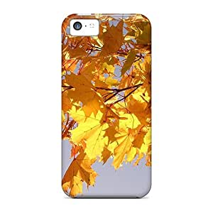 Ultra Slim Fit Hard Cases Covers Specially Made For Iphone 5c- The Leafs Will Fall Soon