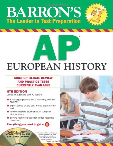 ap euro study guide Ap european history begins ca 1450 ad  ap euro part i (august  review of eras guide to study:.