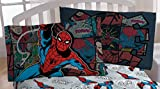 marvel heroes blanket - Marvel Spiderman 'Jump Kick' Microfiber Standard Pillowcase