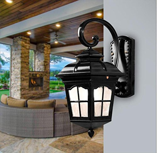 Massive Outdoor Wall Lights