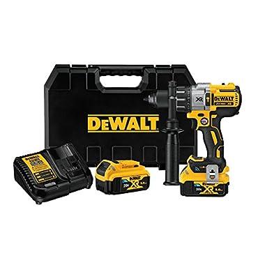 DeWalt DCD997P2BT 20V MAX XR Tool Connect Hammer drill Kit