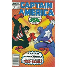 Captain America #350: Seeing Red