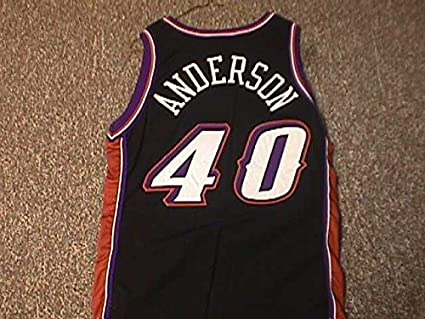 a7be289a9494 Image Unavailable. Image not available for. Color  Shandon Anderson Utah  Jazz 1996-2003 Utah Jazz Game Worn Jersey