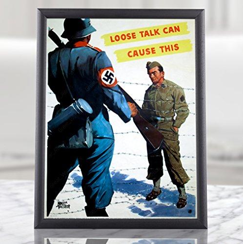 WW2 Anti-Nazi Poster Propaganda -