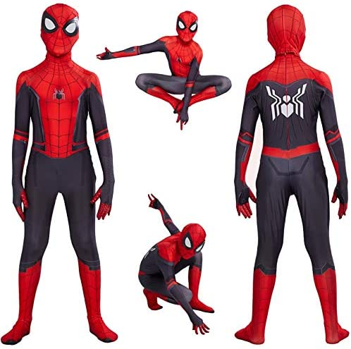 Kids Spider Man Far From Home Peter Parker Cosplay Costume Zentai Spiderman Superhero Bodysuit Suit Jumpsuits Halloween Costume Xl Buy Online At Best Price In Uae Amazon Ae