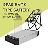 Ebike Battery,Wholesale 48V 14.5AH 36V 11AH Lithium Li-Ion Battery ,Battery Chargers, Ebike Battery Kit, Electric Bicycle Scooter Rear Rack Power. (48V 14.5AH Double-deck) Review