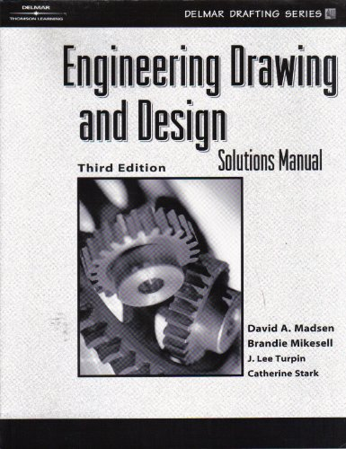 Engineering Drawing and Design Solutions Manual (Hardcover)