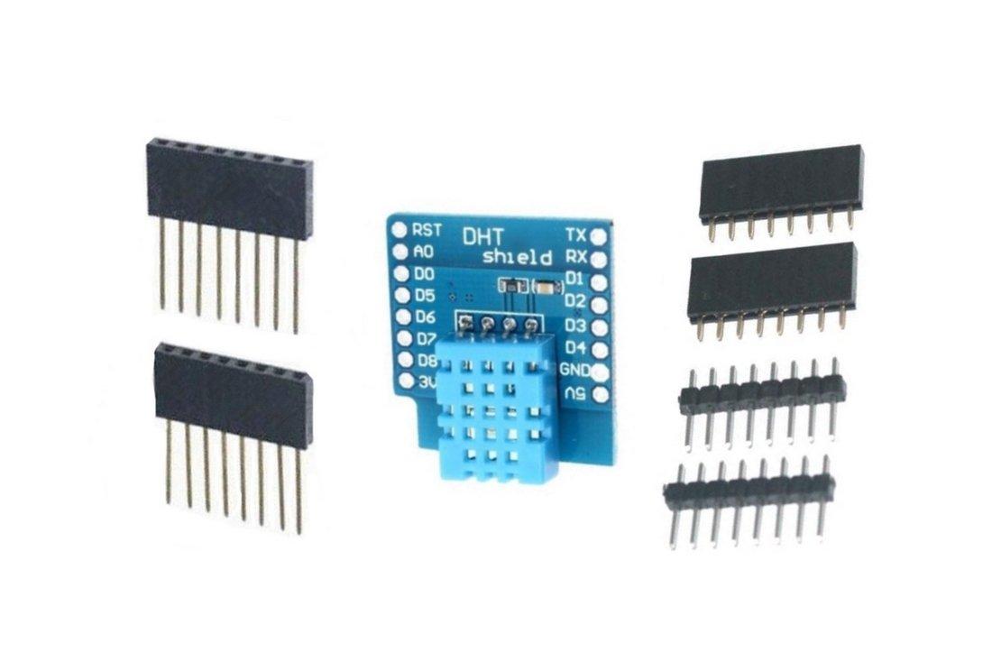 0034 B2Q DHT11 Shield f/ür WeMos D1mini Temp.-Luftfeuchte-Sensor
