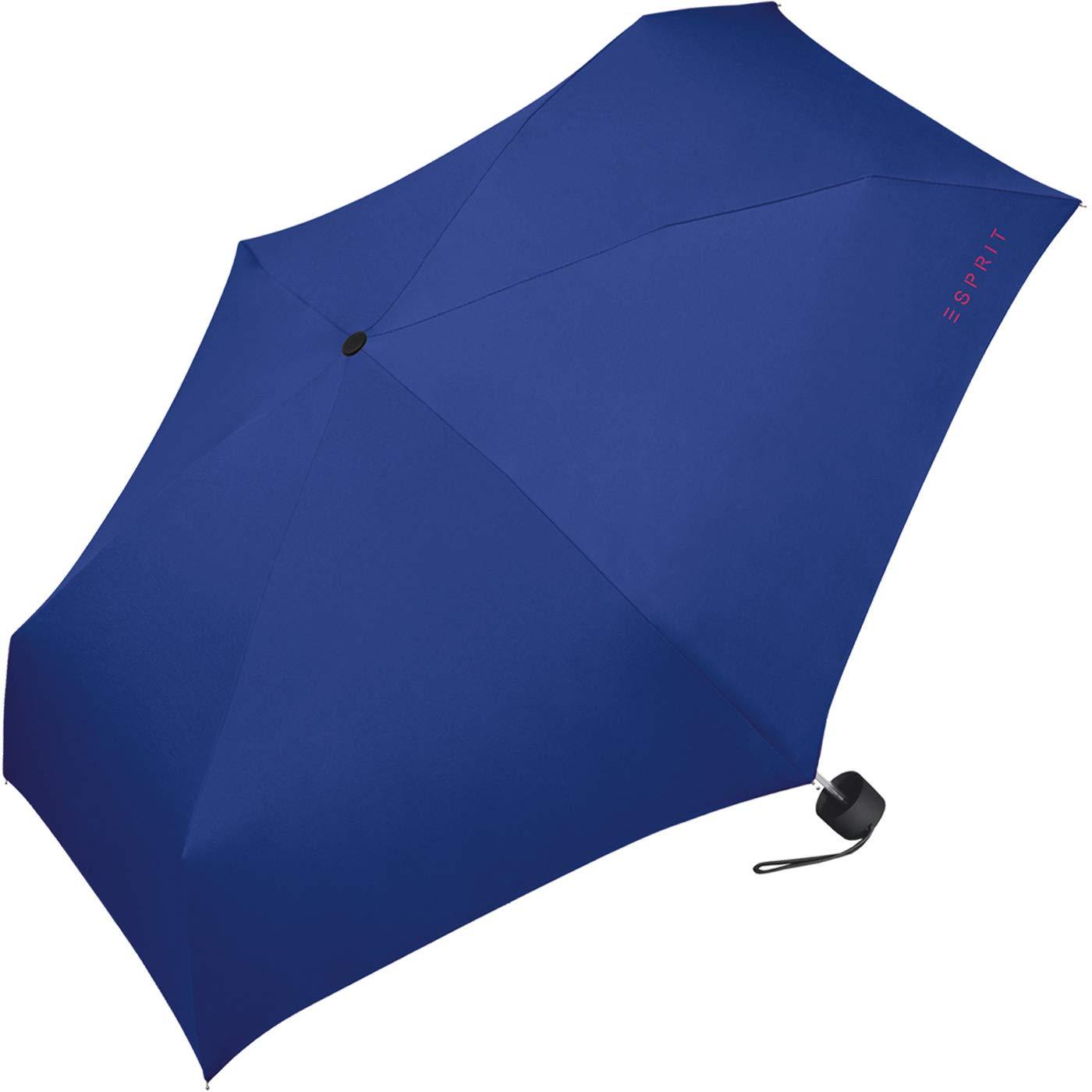 ESPRIT Parapluie pliants Femme Bleu Bleu Marine 91 cm