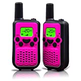 Walkie Talkies, Wireless Interphone 22 Channel FRS/GMRS 2 Way Radio 2 miles (up to 3 Miles) UHF...
