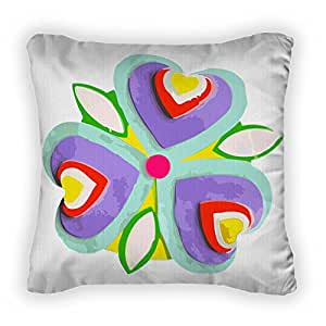 Gear New Single Imaginary Flower Throw Pillow, Poplin, 18x18, GN765917