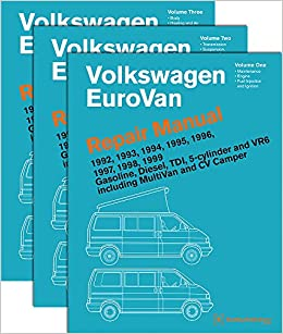 volkswagen eurovan repair manual 1992 1993 1994 1995 1996 volkswagen eurovan repair manual 1992 1993 1994 1995 1996 1997 1998 1999 three volume set