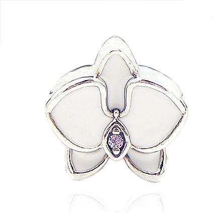 Cooltaste Perles d'été orchidée blanche pour loisirs créatifs ...