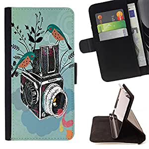 Pattern Queen - Vintage Camera - FOR Samsung Galaxy Note 3 III - Hard Case Cover Shell