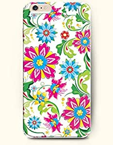 SevenArc Apple iPhone 6 Case 4.7 Inches - Multicolored Flowers Blooming