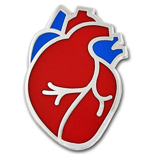 PinMart The Human Heart Medical Enamel Lapel Pin