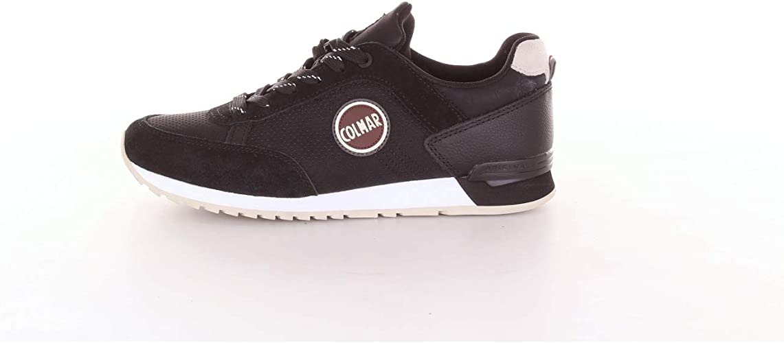 Colmar Travis Drill Sneakers Man Black 44: Amazon.co.uk