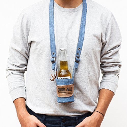 OverAle (Hands-Free Drink Strap) Handmade by Hide & - Strap Frat