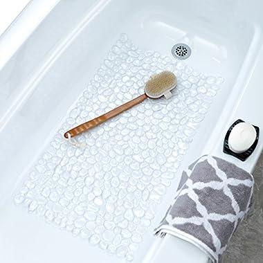 Pebble Bath Mat - Clear
