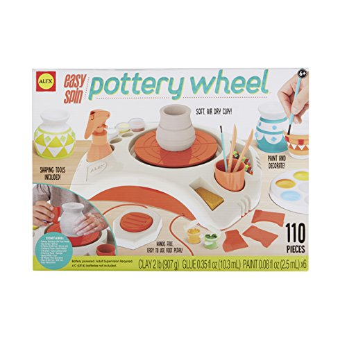 ALEX Toys Artist Studio Easy Spin Pottery - Kids Crafts For Cool