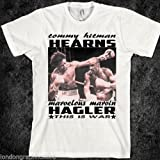 Details about boxing t shirt, marvin hagler, tommy hearns, black history, new (Large)