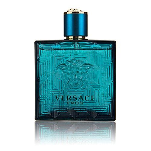 Versace Eros Eau De Toilette Spray for Men 100Ml 3.4Oz