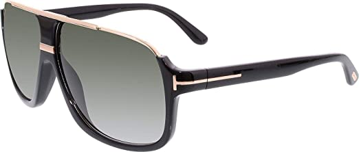 307bfb4c0 Tom Ford Gradient Elliot Grey Oval Sunglasses For Men: Amazon.ae