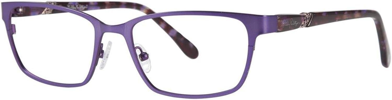 LILLY PULITZER Eyeglasses KIPPER Rose 47MM