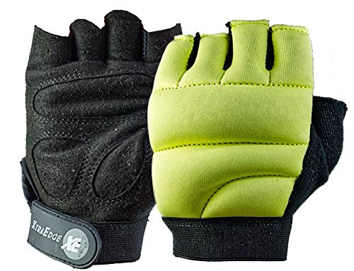 XtraEdge XE Renegade S/M 1-lb Each Weighted Power Gloves, Weighted Fitness Gloves, Kickboxing, Cardio, Workout - One Pair