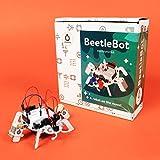 Amperka BeetleBot Breadboard Electronic Engineering STEM Kit for Kids and Teens (English Book)