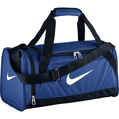 Nike Brasilia 6 X-Small Duffle Bag (Game Royal/Black, One (Nike Golf Bag For Women)