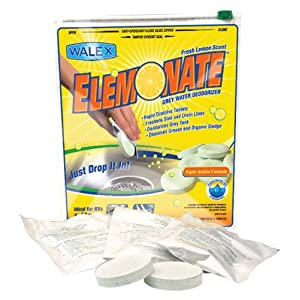 USA Walex TOI-61776 Elemonate Grey Water Deodorizer and Cleaner