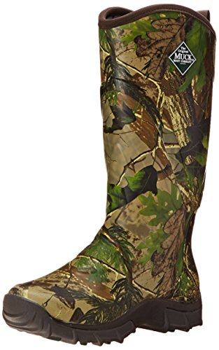 MuckBoots Men's Pursuit Snake Proof Hunting Boot, Realtree, 10 M US