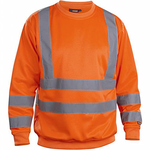 Blakläder 334119745300XXXL Pullover High-Vis Klasse 3 Größe XXXL in Orange