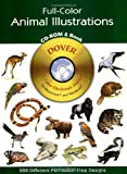 Full-Color Animal Illustrations, Dover Publications Inc. Staff, 0486995461