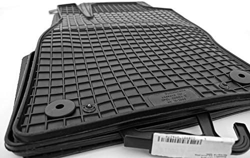 kh Teile Gummimatten 52210 Passform Gummi Fu/ßmatten 4-teilig schwarz