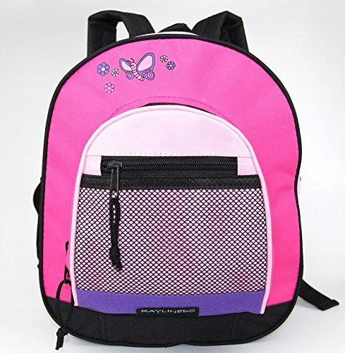 RayLineDo Unisex Girls Boys School Backpack Children's Bags,Pink (Pink Girl School)