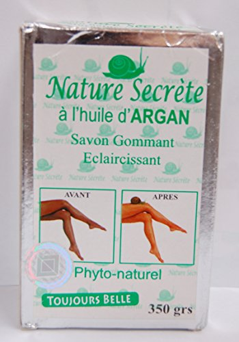 Price comparison product image NATURE SECRETE Whitening and Exfoliating Gommant Face and Body Soap 350grs
