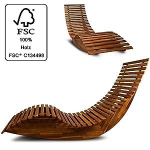 En Bascule Agréable Chaise BoisEsthétique Et À Longue thdBoxsQrC