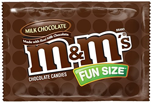 M&M's Milk Chocolate, Classic Candy  Bulk of Fun Size Snacks